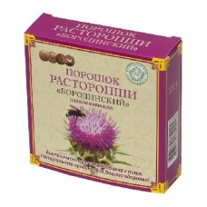 Бородинский порошок расторопши 100г коробка (БАД)